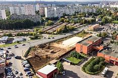 На Березовой улице началось строительство супермаркета «Лента»