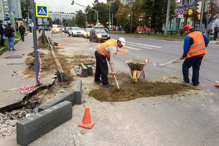 На бессмысленную замену бордюров в городе затрачено 7 миллионов рублей видновских налогоплательщиков фото 2