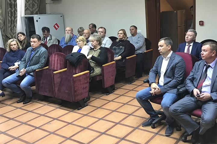 1-е заседание Совета депутатов с.п. Булатниковское. Фото: пресс-служба главы Ленинского района