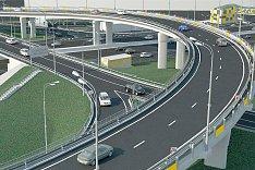 Началась реконструкция развязки «МКАД – Бесединское шоссе – с.п. Развилковское»