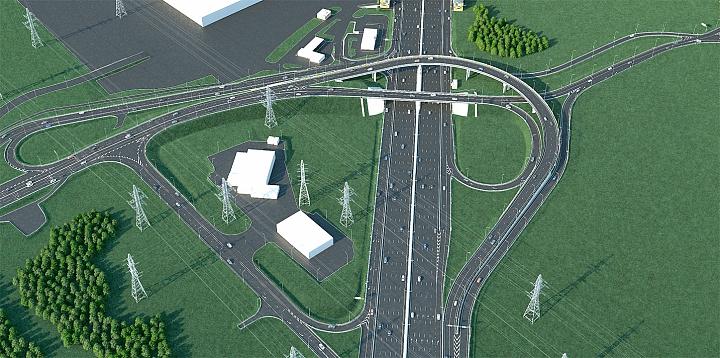 Началась реконструкция развязки «МКАД – Бесединское шоссе – с.п. Развилковское» фото 3