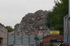 Стали известны сроки ликвидации огромной горы мусора на Белокаменном шоссе