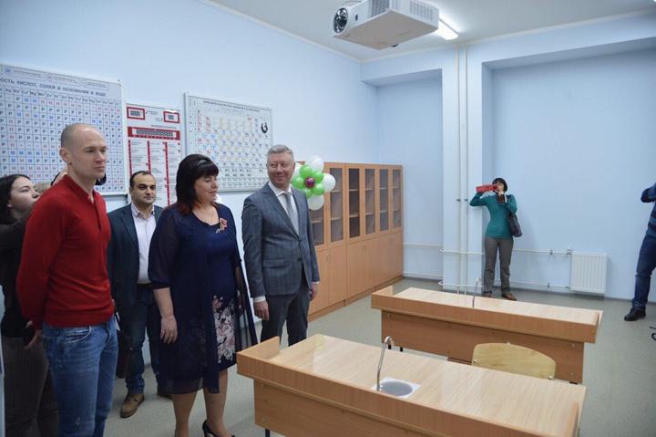 В санитарно-защитной зоне локальных очистных сооружений открылась Видновская школа № 11. Фоторепортаж фото 9