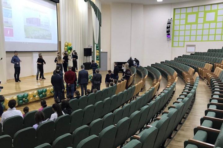 В санитарно-защитной зоне локальных очистных сооружений открылась Видновская школа № 11. Фоторепортаж фото 8