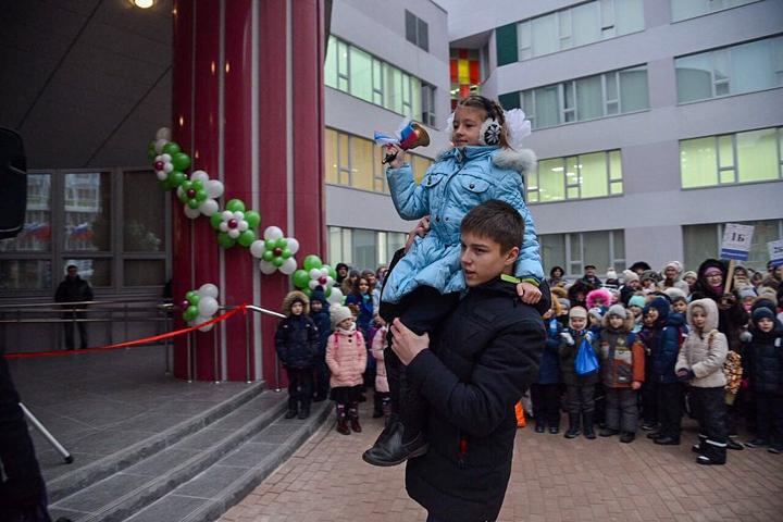В санитарно-защитной зоне локальных очистных сооружений открылась Видновская школа № 11. Фоторепортаж фото 3