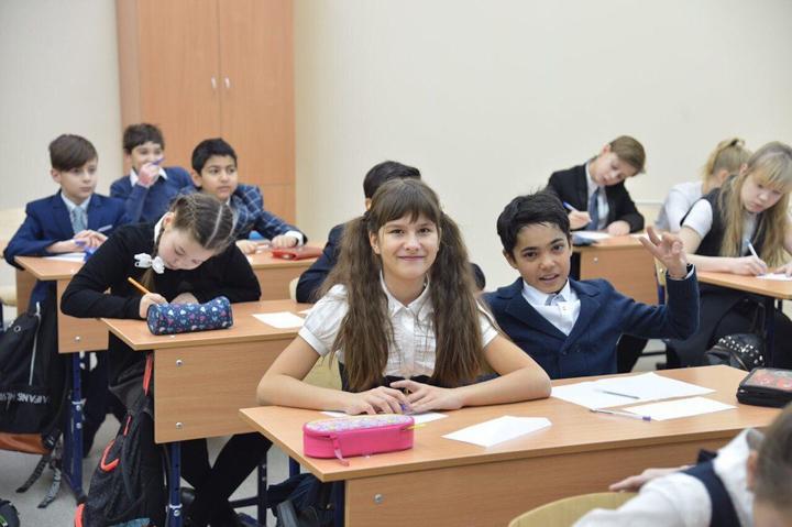 В санитарно-защитной зоне локальных очистных сооружений открылась Видновская школа № 11. Фоторепортаж фото 13