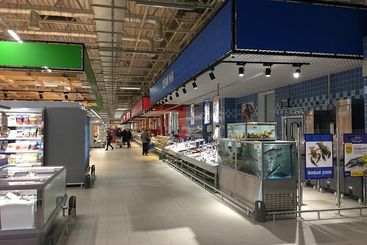 В новом торговом центре «Видное Парк» открылся гипермаркет «Лента». Фоторепортаж фото 8