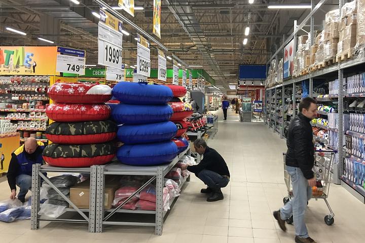В новом торговом центре «Видное Парк» открылся гипермаркет «Лента». Фоторепортаж фото 7