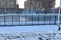 На стадионе «Металлург» заработал бесплатный каток для массовых катаний и игр в хоккей