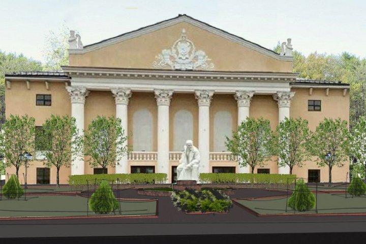 Администрация района предлагает жителям выбрать, какие деревья высадить перед зданием Дома культуры города Видное