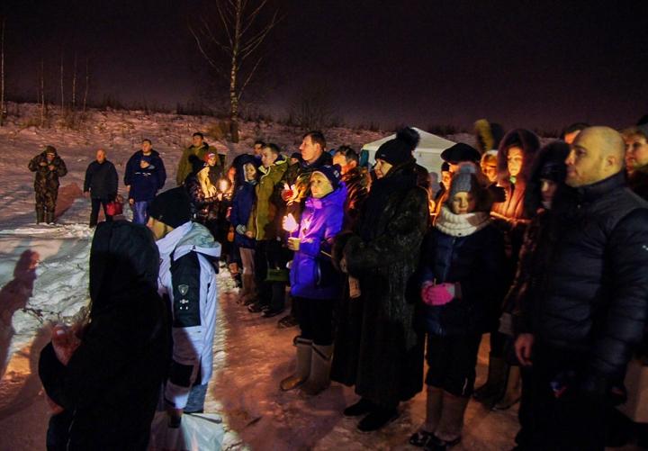 В крещенских купаниях в Ленинском районе приняло участие более 6 тысяч человек. Фоторепортаж фото 10