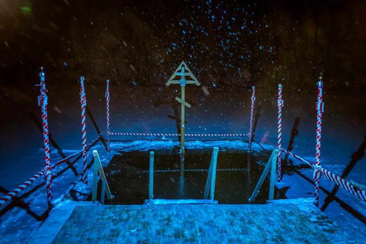 В крещенских купаниях в Ленинском районе приняло участие более 6 тысяч человек. Фоторепортаж фото 2