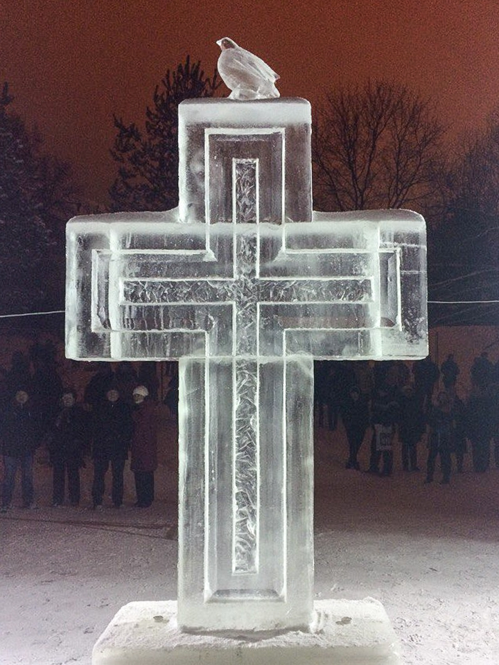 В крещенских купаниях в Ленинском районе приняло участие более 6 тысяч человек. Фоторепортаж фото 7