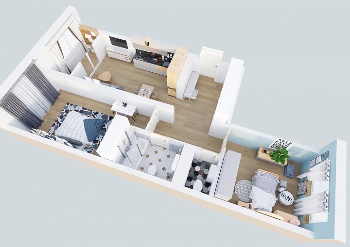 Жители Видного смогут обменять старую квартиру на новую с кухней-гостиной фото 2