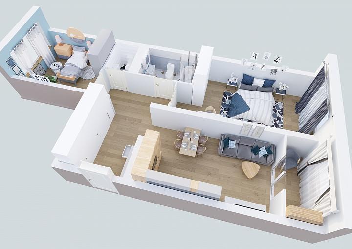 Жители Видного смогут обменять старую квартиру на новую с кухней-гостиной фото 3