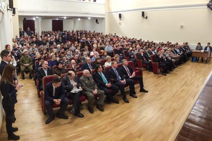 Глава г.п. Видное Моисей Шамаилов отчитался перед населением и намекнул, что Павлу Грудинину надо уйти в отставку. Видеозапись фото 2