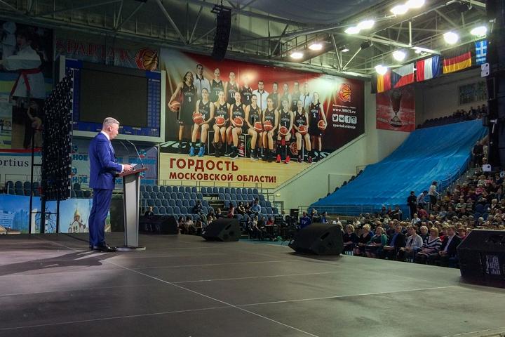 Состоялся отчет главы Ленинского района Олега Хромова по итогам работы за 2017 год. Фото и видео
