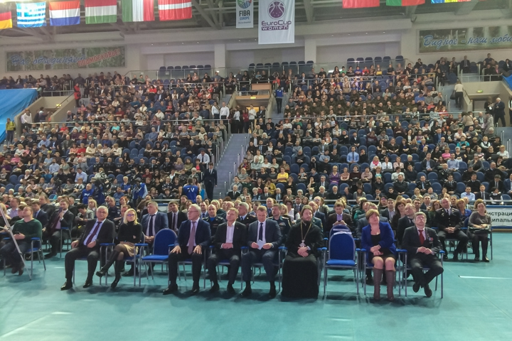 Состоялся отчет главы Ленинского района Олега Хромова по итогам работы за 2017 год. Фото и видео фото 13