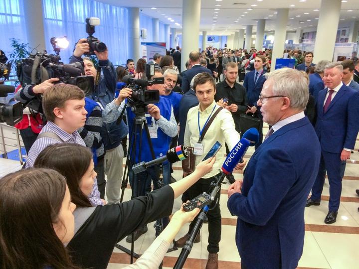 Состоялся отчет главы Ленинского района Олега Хромова по итогам работы за 2017 год. Фото и видео фото 10