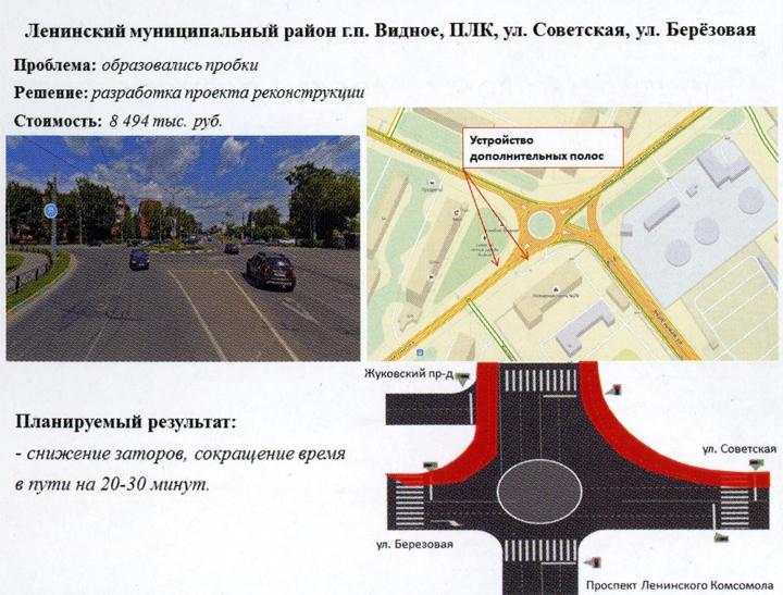 О планах реконструкции круговых движений на пересечении улиц «ПЛК-Березовая-Советская» и «Школьная-Советская» фото 2