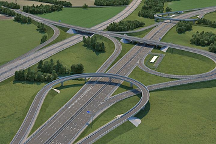 Будущая развязка Каширского шоссе - Володарское шоссе