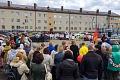 В Горках Ленинских состоялся митинг за сохранение школы памяти В.И. Ленина