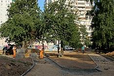 В 2018 году в Ленинском районе благоустроят 15 дворов. Адреса