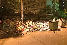 Вывоз мусора из Видного и с незаконной свалки на Белокаменном шоссе возобновился