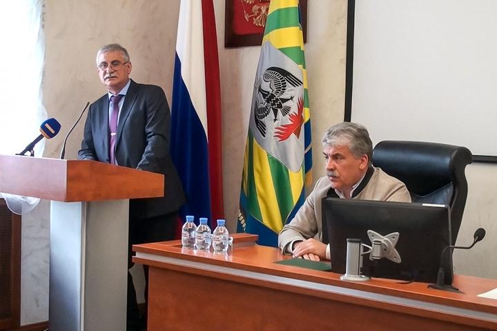 Моисей Шамаилов подготовит перечень возвращаемых полномочий в администрацию г.п. Видное к 1 сентября