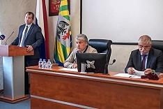 Совет депутатов вновь утвердил новый устав г.п. Видное. Видеозапись 16-го заседания