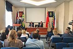 Депутаты районного Совета депутатов избрали нового главу Ленинского района