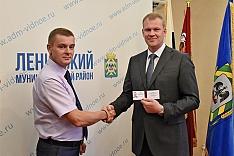 Валерий Венцаль вступил в должность главы Ленинского района и обратился к жителям
