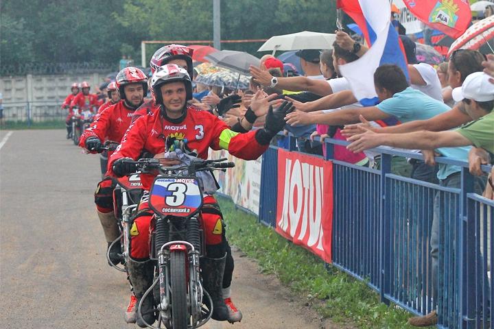 Видновская мотобольная команда «Металлург» в 25-ый раз выиграла Кубок России