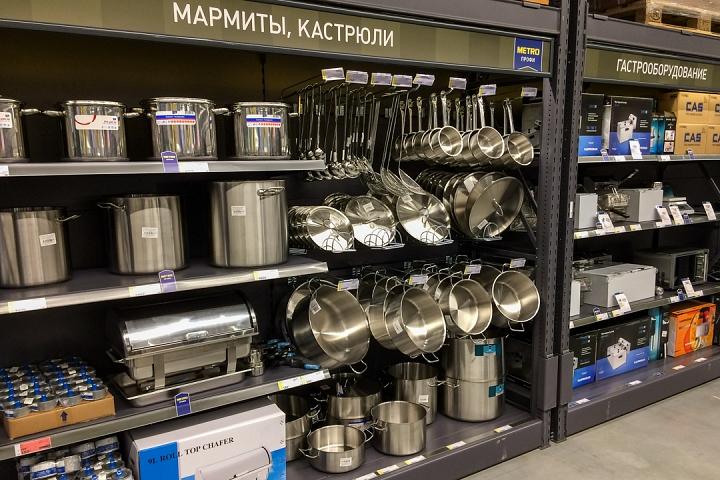 В деревне Апаринки на Каширском шоссе открылся гипермаркет МЕТРО Кэш энд Керри. Фоторепортаж фото 40