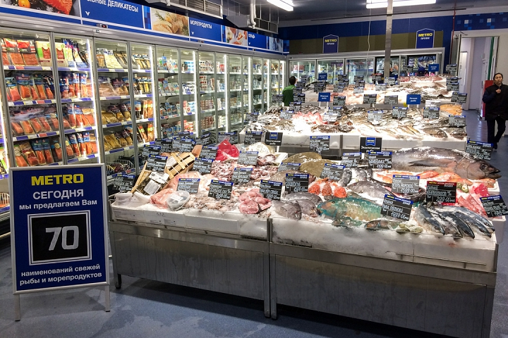 В деревне Апаринки на Каширском шоссе открылся гипермаркет МЕТРО Кэш энд Керри. Фоторепортаж фото 15