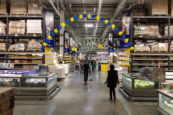 В деревне Апаринки на Каширском шоссе открылся гипермаркет МЕТРО Кэш энд Керри. Фоторепортаж фото 32