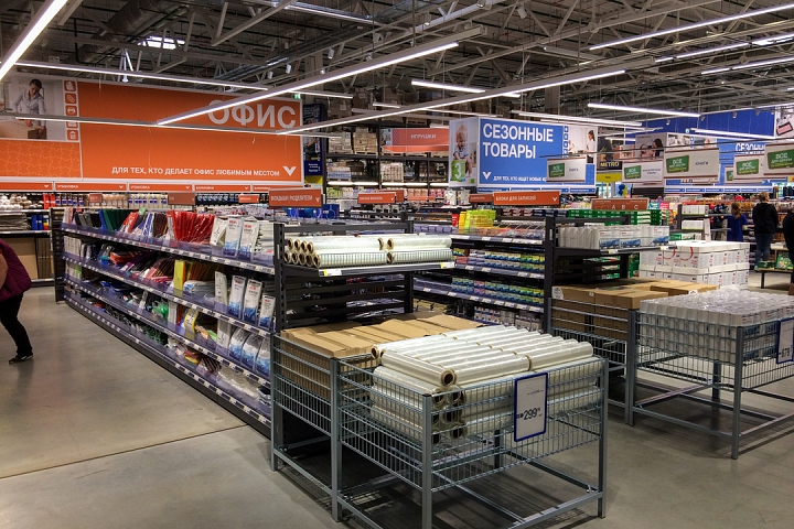 В деревне Апаринки на Каширском шоссе открылся гипермаркет МЕТРО Кэш энд Керри. Фоторепортаж фото 18