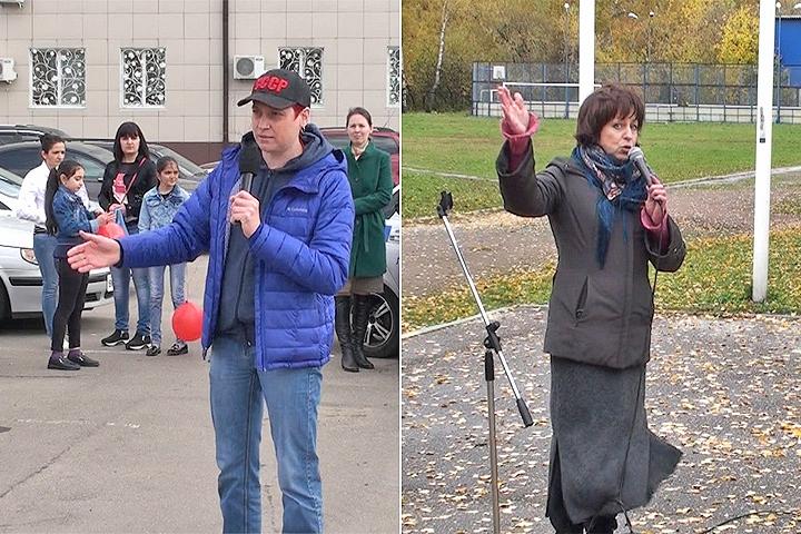 Евгения Егорова и Ольга Чеботарева