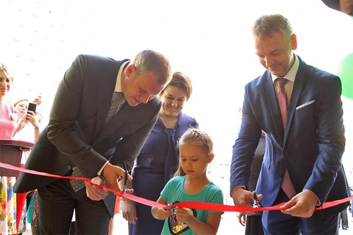 В Ленинском районе открыли три новых детских сада на 840 мест