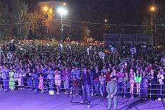 Видеозапись концерта в честь Дня города Видное и Ленинского района. Елка, Белорусские песняры, Марк Тишман