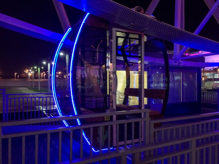 В ТРК «Вегас» заработало второе колесо обозрения фото 3