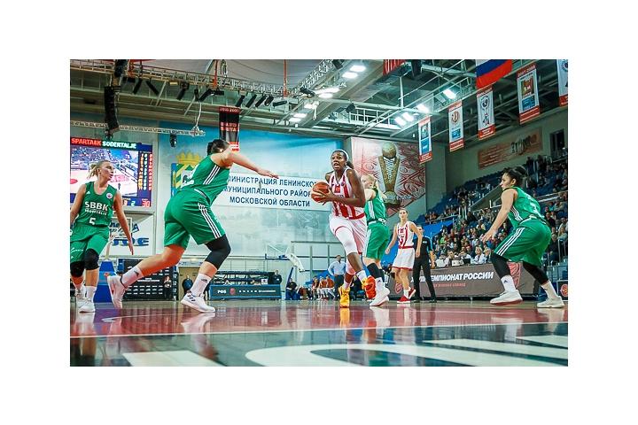 Видновчанки обыграли шведок в первом баскетбольном матче Кубка Европы ФИБА