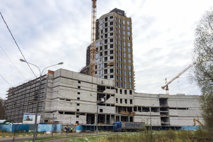 Башня МФК «Видное 9-18» постепенно обретает свой архитектурный облик. Дата открытия фото 4