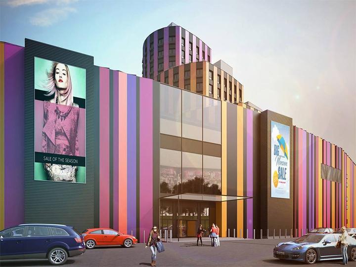 Башня МФК «Видное 9-18» постепенно обретает свой архитектурный облик. Дата открытия фото 3