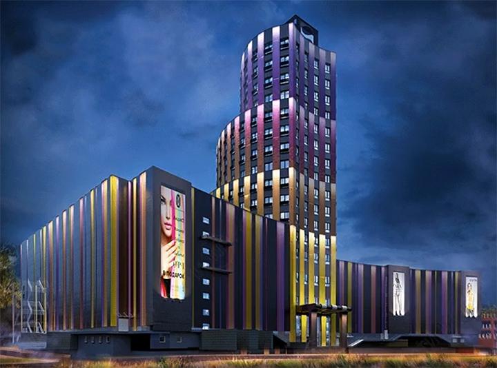 Башня МФК «Видное 9-18» постепенно обретает свой архитектурный облик. Дата открытия фото 5