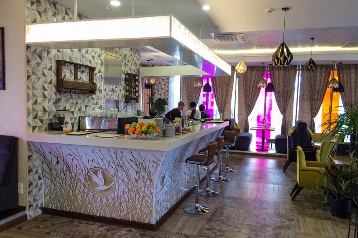 В Видном на Радужной улице открылось новое кафе c панорамным остеклением. Фоторепортаж фото 5