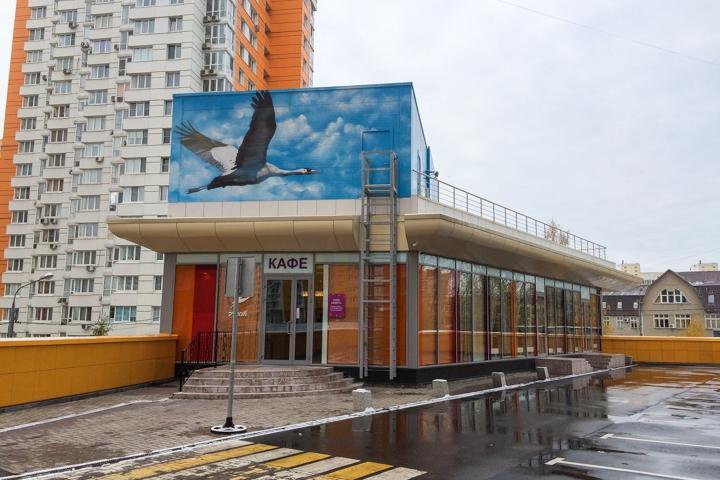 В Видном на Радужной улице открылось новое кафе c панорамным остеклением. Фоторепортаж фото 2