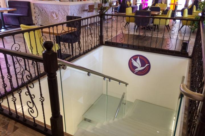 В Видном на Радужной улице открылось новое кафе c панорамным остеклением. Фоторепортаж фото 15