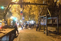 Новые остановки. На Березовой улице создают тротуар для прохода до остановки