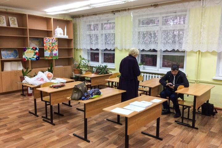 В Горках Ленинских детей после каникул не пустили в их школу. Ее внезапно закрыли на ремонт на несколько лет. Видео фото 7